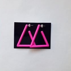 Náušnice trojúhelníky...